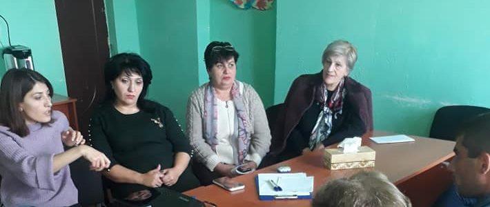 Հայկական արոսենու պահպանությանը միտված հերթական միջոցառմանը ներկա էին նաև Այցելուների կենտրոնի աշխատակիցները