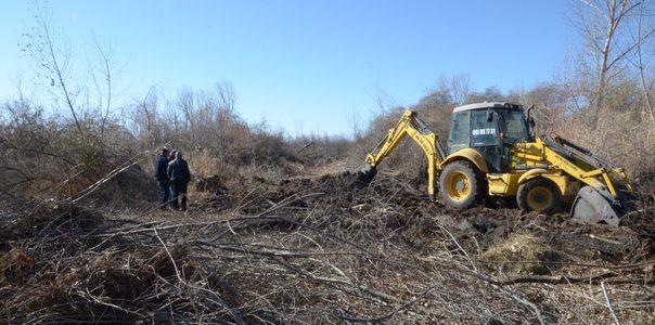 Ծառերից, արմատներից ու թփերից մաքրվում են Սևանա լճի անտառամերձ տարածքները