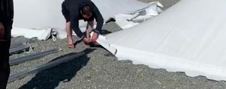 «Սպիտակ Շորժա» (White Shorja) հանգստի գոտում տեղադրված ապօրինի տաղավարների ու ժամանցի ենթակառուցվածքների ապամոնտաժման աշխատանքները