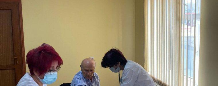 📌 Այսօր «Սևան» ազգային պարկ» ՊՈԱԿ-ի աշխատողները պատվաստվել են կորոնավիրուսային հիվանդության (COVID-19) դեմ: